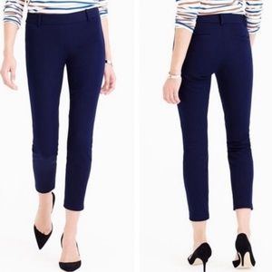 J. Crew navy Minnie pant